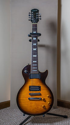 Epiphone Les Paul 7 string at New Paradigm Audio