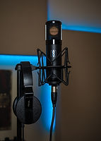 Slate VMS 1 mic Focal Spirit Pro Headphones at New Paradigm Audio