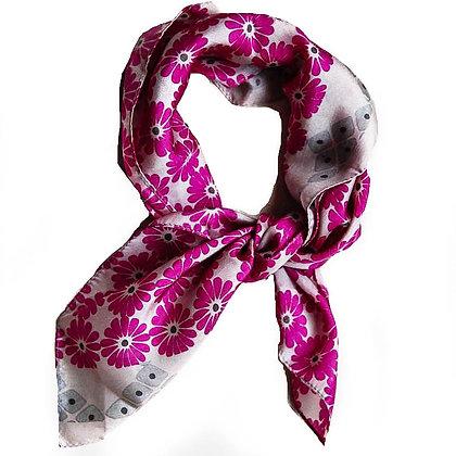 Mini foulards 100% soie