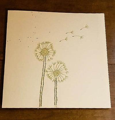 Carte Fleur de pissenlit