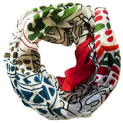 Foulards en coton Mwassa