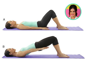Tone Up, Celeb Style: Lucy Hale Workout