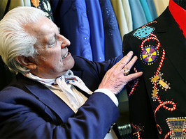 Go West Young Man: Western Frontier Couture of Manuel Exhibit Kicks Off November 16