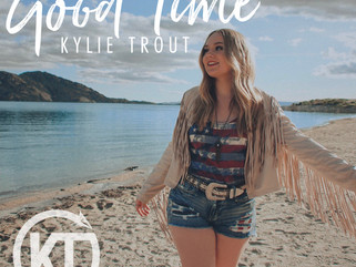 """Kylie Trout Spreads Good Vibes of Summertime with New Song """"Good Time"""""""