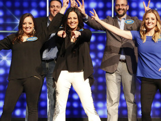 Sara Evans Wins Big on Family Feud