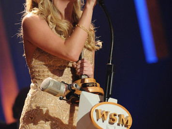 Carrie Underwood Celebrated her 10th anniversary as a Member of the Grand Ole Opry