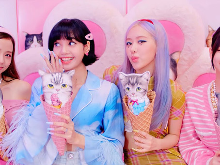 """BLACKPINK and Selena Gomez Ended the Summer on a Sweet Note With """"Ice Cream"""""""