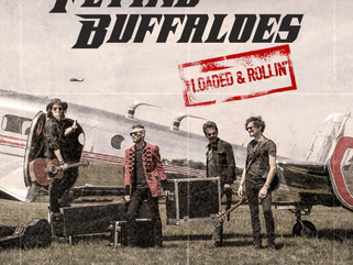 Flying Buffaloes Showcase Acclaimed Debut Album, Loaded & Rollin'