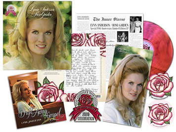 Lynn Anderson 'Rose Garden' 50th Anniversary Deluxe Collector's Edition Vinyl Available Tomorrow!