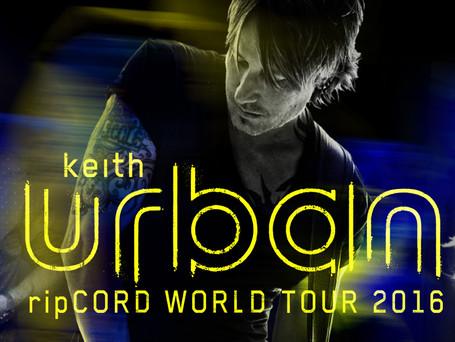 KEITH URBAN'S 'RipCORD WORLD TOUR 2016' FEATURING BRETT ELDREDGE WITH MAREN MORRIS