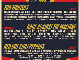 Boston Calling Releases 2020 Lineup Featuring: Red Hot Chili Peppers, Foo Fighters, & Rage Again