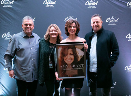 Capitol Christian Music Group Surprises Amy Grant with Award For 1 Billion Global Streams