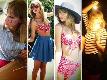 Get the Look: Taylor Swift on the Fourth of July