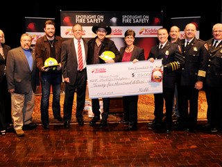 Kidde and Country Music Stars Chris Young  and Kix Brooks Increase Fire Safety and Help Burn-Injured
