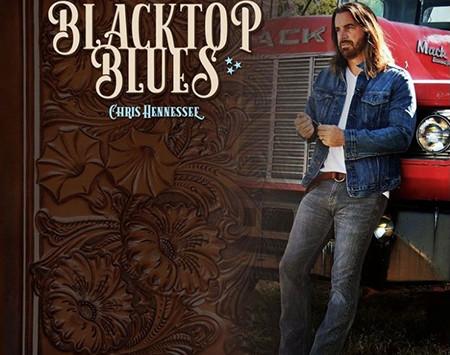 "CHRIS HENNESSEE  ""BLACKTOP BLUES,"""