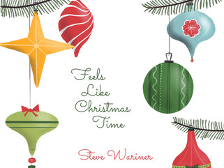 STEVE WARINERFEELS LIKE CHRISTMAS TIMEALBUM AVAILABLE FOR PRE-ORDER TODAY