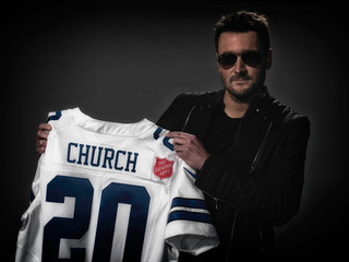 Eric Church Joining Forces With The Red Kettle Campaign