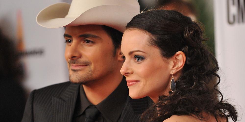 Brad Paisley and his wife Kimberly Williams-Paisley.