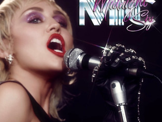 "Miley Cyrus Revives 80's Pop in New Single, ""Midnight Sky"""