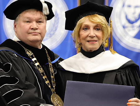 LMU HONORS MISS COUNTRY SOUL, JEANNIE SEELY, WITH HONORARY DOCTORATE OF ARTS DEGREE