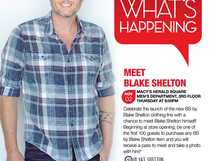 Blake Shelton's Clothing Line is Total BS