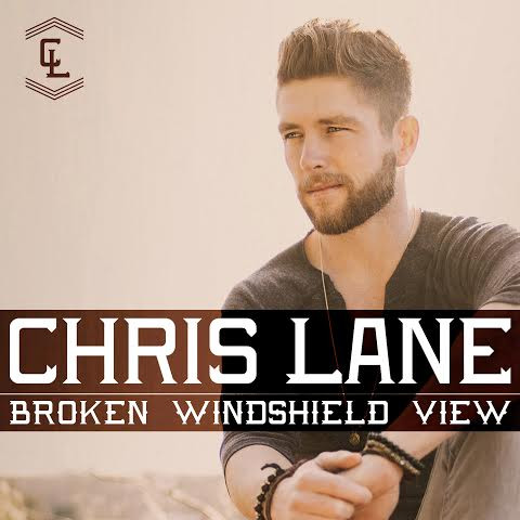 Chris Lane broken windshield view interview