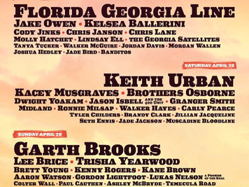 STAGECOACH 2018 line-up is here!!