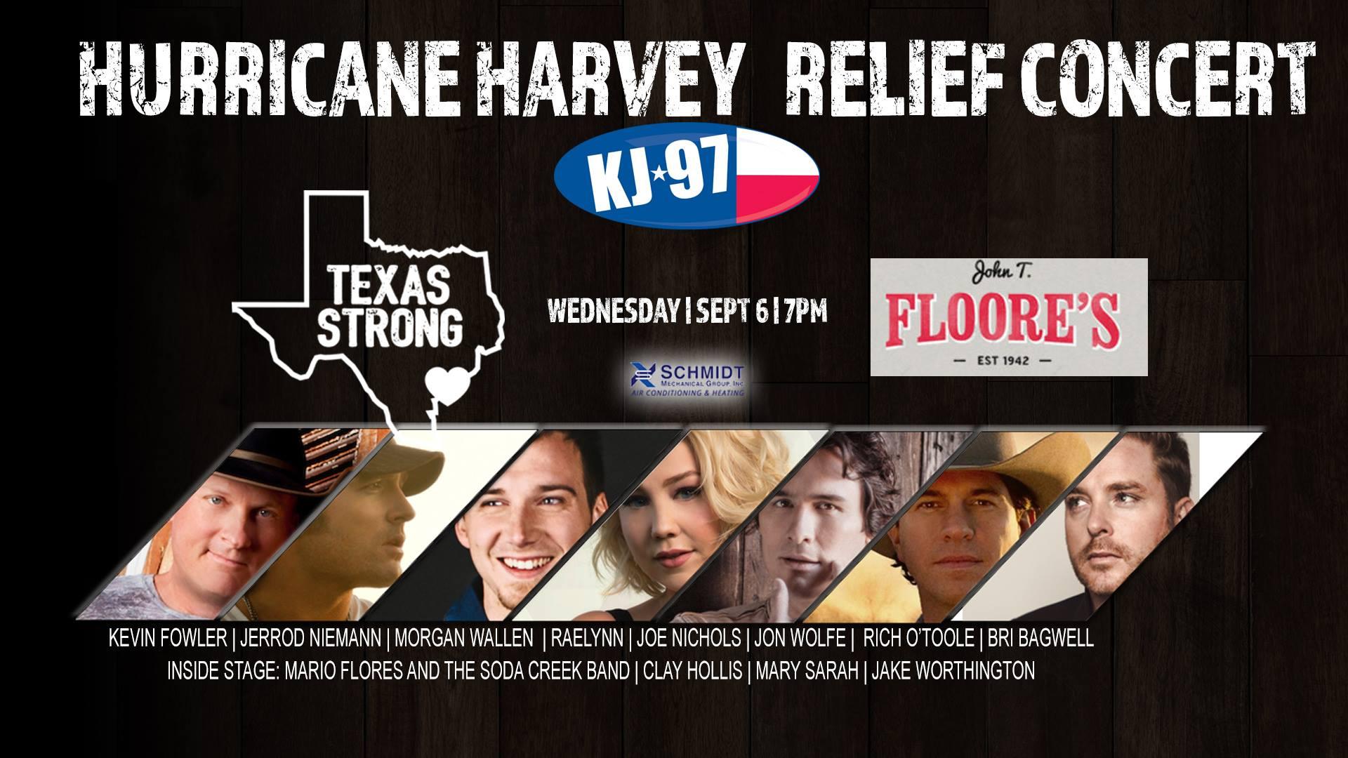 Hurricane Harvey Relief Concert