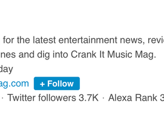 Crank It Music Mag Ranked on Top 200 Music Blogs