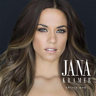 """NStyle review's Jana Kramer's gorgeous album cover, for her new release, """"Thirty One"""""""