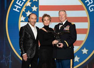 Lee Greenwood Honors Kathie Lee Gifford At Helping A Hero's 2019 National Gala In Houston