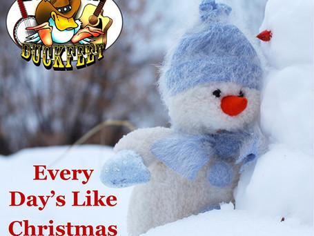 "Michael Anthony & Broken Duckfeet ""Every Day's Like Christmas"""
