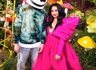 "Marshmello and Demi Lovato Address Mental Health in ""OK Not To Be OK"""