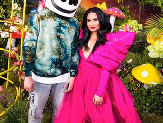 """Marshmello and Demi Lovato Address Mental Health in """"OK Not To Be OK"""""""