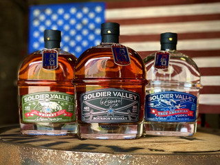 Soldier Valley Spirits celebrate and honor U.S. veterans by releasing Lee Greenwood Signature Line