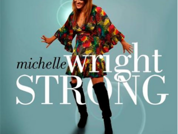 "Get The Look of Michelle Wright's new album cover, ""Strong""!"