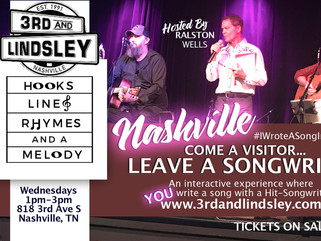 """LINES AND RHYMES"" JAN. 15th at 3RD AND LINDSLEY   An Interactive Audience Participation Songwriting"