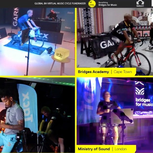 DJs Bicycle Online for Music Education in Developing Countries