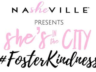 "NaSHEville's ""She's in the City"" Raising Awareness for Local Children in Foster Ca"