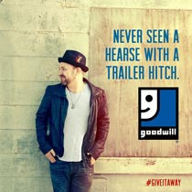 #GiveItAway with Kristian Bush and Goodwill Industries International