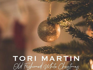 """Singer-Songwriter Tori Martin is Ready for an """"Old Fashioned White Christmas"""""""