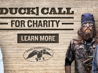 We've Put Out the (Duck) Call for Charity