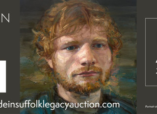 Ed Sheeran's Personal Memorabilia Will Be Auctioned to Benefit Children