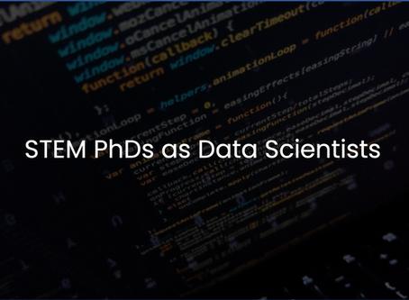 STEM PhDs as Data Scientists