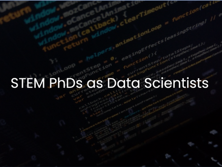 STEM PhDs as Data Scientists