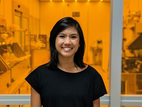 Meet Jasmine Sabio: Nanofabrication Process Engineer