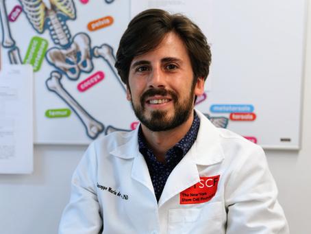 Meet Giuseppe Maria de Peppo: Senior Principal Investigator
