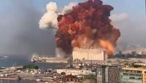 Explosion in Beirut, Lebanon: August 2020