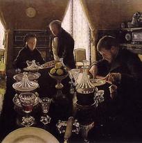 Gustave Caillebotte-Le déjeuner