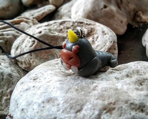 Tiny walrus charm